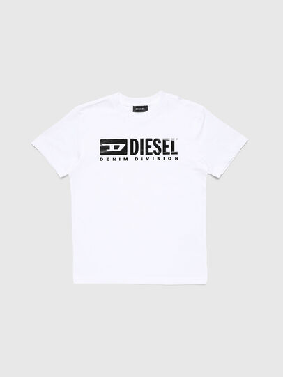 Diesel - TJDIVISION, White - T-shirts and Tops - Image 1