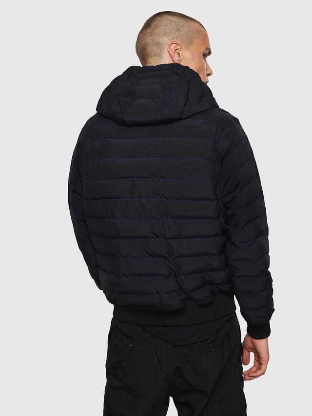 Diesel - W-OBLOSKY, Black - Winter Jackets - Image 2
