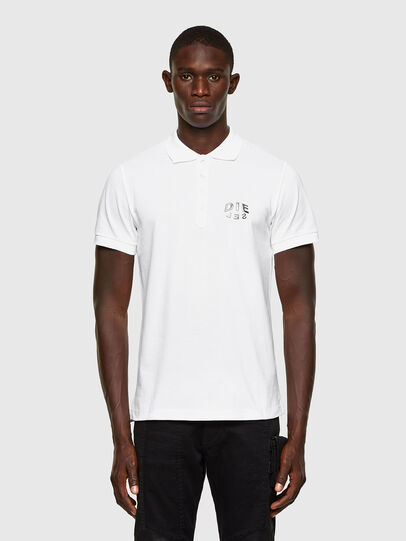 Diesel - T-RANDY-NEW-A2, White - Polos - Image 1