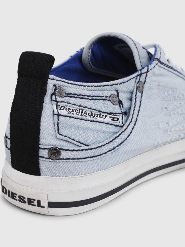Diesel - EXPOSURE LOW I, Light Blue - Sneakers - Image 5