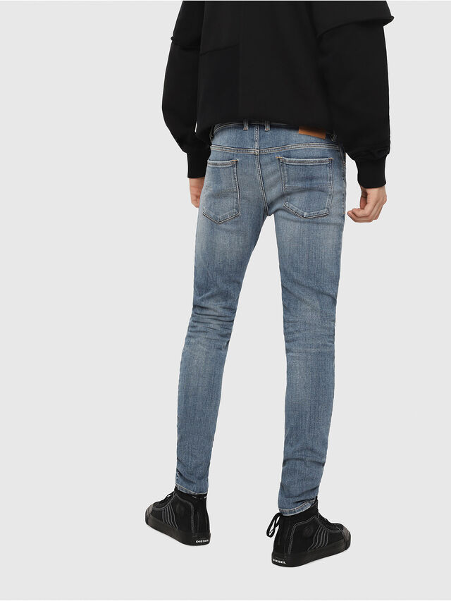 Diesel - Sleenker 086AP, Medium blue - Jeans - Image 2