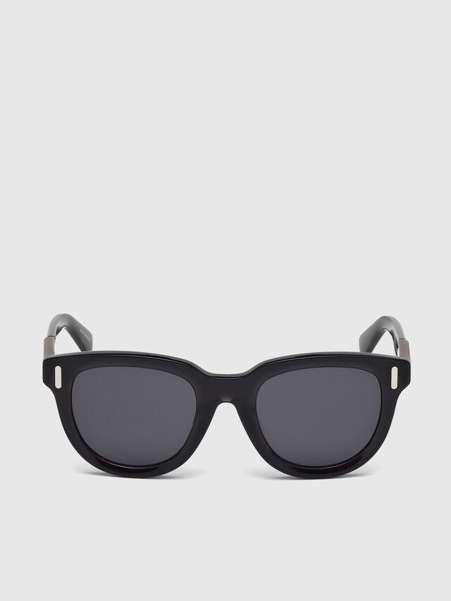 Diesel - DL0228, Black - Sunglasses - Image 1