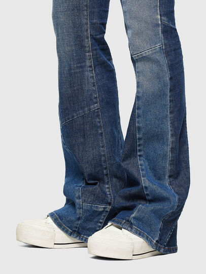 Diesel - D-Ebbey 009NP, Medium blue - Jeans - Image 5