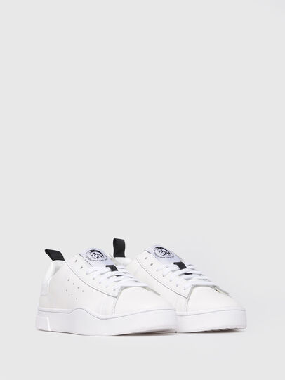 Diesel - S-CLEVER LOW W, White - Sneakers - Image 2