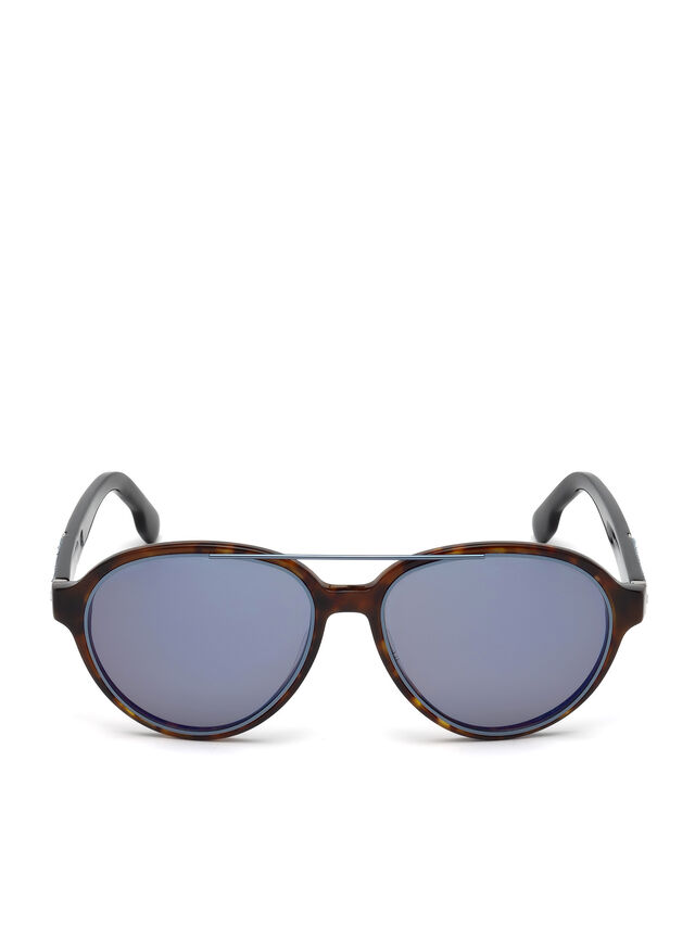 Diesel DL0214, Brown - Eyewear - Image 1