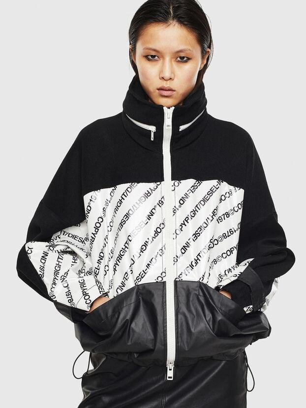 G-MESHELLE, Black/White - Jackets
