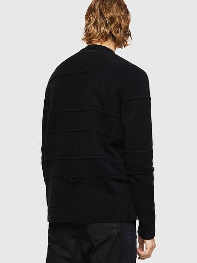 Diesel - KASTORN, Black - Knitwear - Image 2