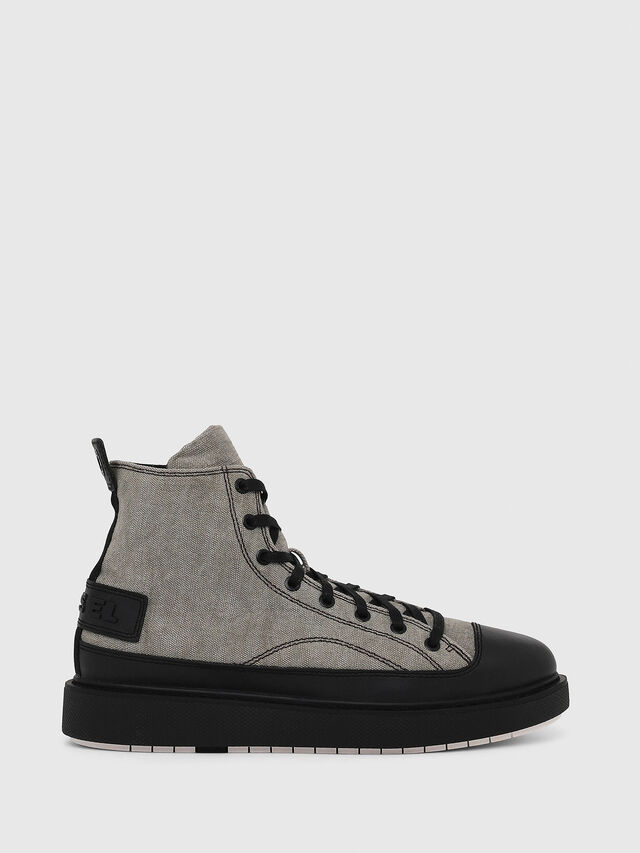 Diesel - H-CAGE DBB, Gray/Black - Boots - Image 1