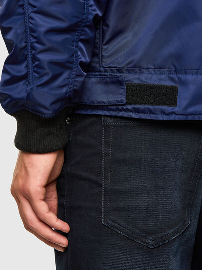 Diesel - J-LEANDER, Blue - Winter Jackets - Image 6