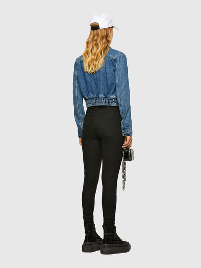 Diesel - DE-NINO, Medium blue - Denim Jackets - Image 6