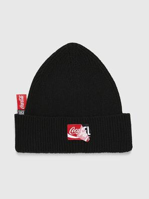 CC-BEANY-COLA, Black - Knit caps