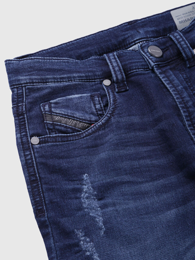 Diesel - MHARKY-J JOGGJEANS, Dark Blue - Jeans - Image 3