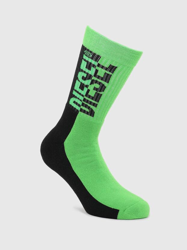 SKM-RAY, Green/Black - Socks
