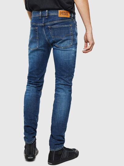 Diesel - Sleenker 0097T, Dark Blue - Jeans - Image 2