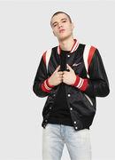 L-HARU, Black/Red - Leather jackets