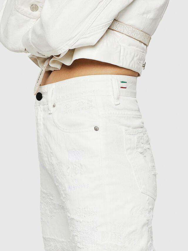 Diesel - D-Eiselle 069IJ, White - Jeans - Image 7