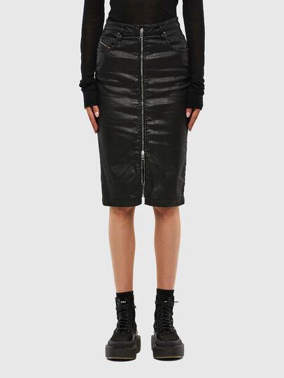 Diesel - D-ELBEE JOGGJEANS, Black - Skirts - Image 1