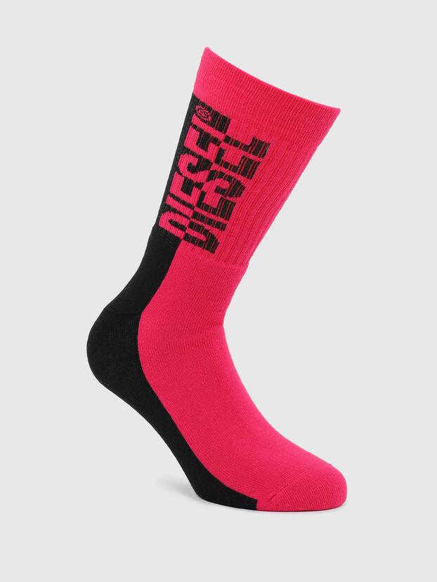 SKM-RAY, Red/Black - Socks