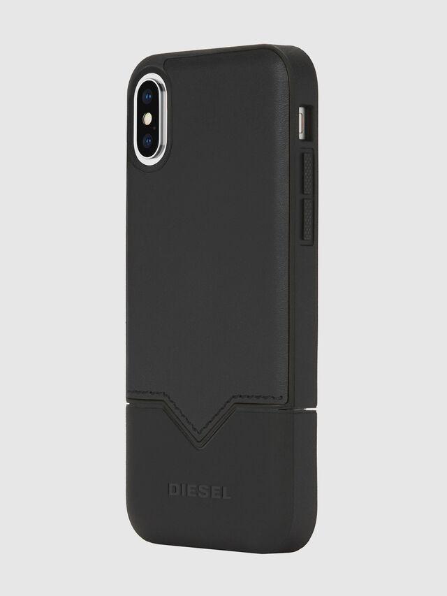 Diesel - CREDIT CARD IPHONE X CASE, Black - Cases - Image 1