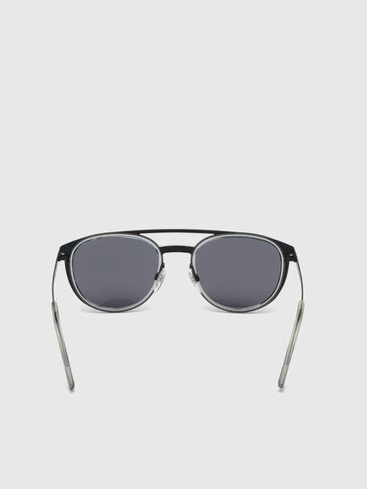 Diesel - DL0293, Black/Grey - Sunglasses - Image 4