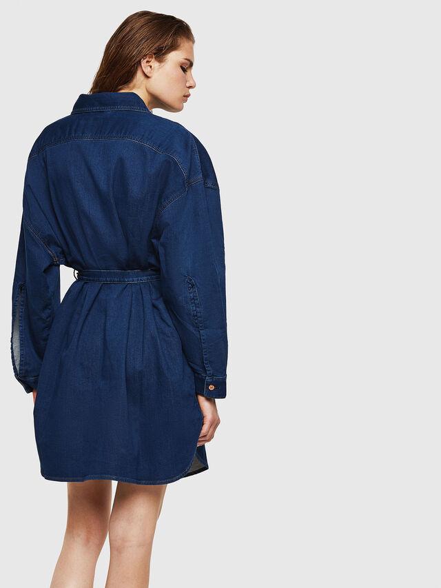 Diesel - D-PINKIES JOGGJEANS, Medium blue - Dresses - Image 2