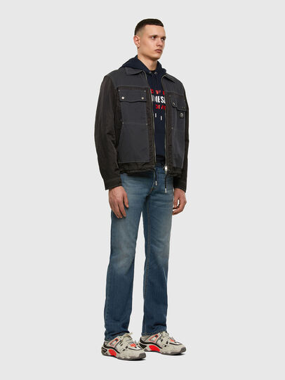 Diesel - Larkee 009EI, Medium blue - Jeans - Image 5