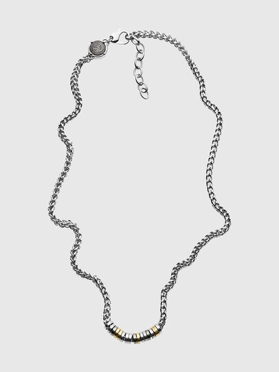 Diesel - DX1188, Silver - Necklaces - Image 1