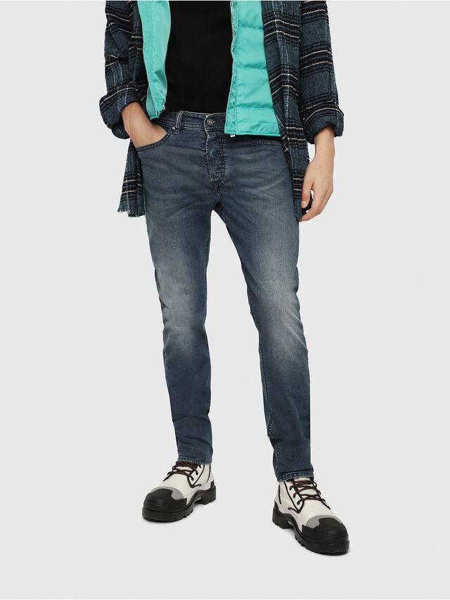 Diesel - Buster 084TU, Dark Blue - Jeans - Image 1