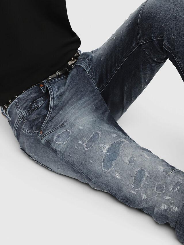 Diesel - Fayza JoggJeans 069CC, Medium blue - Jeans - Image 3