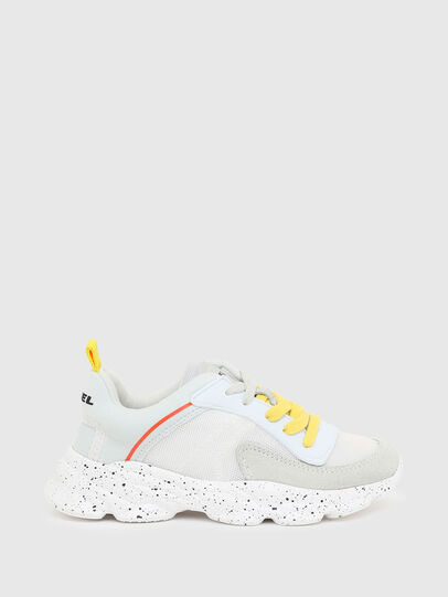 Diesel - S-SERENDIPITY LC CH, White/Yellow - Footwear - Image 1