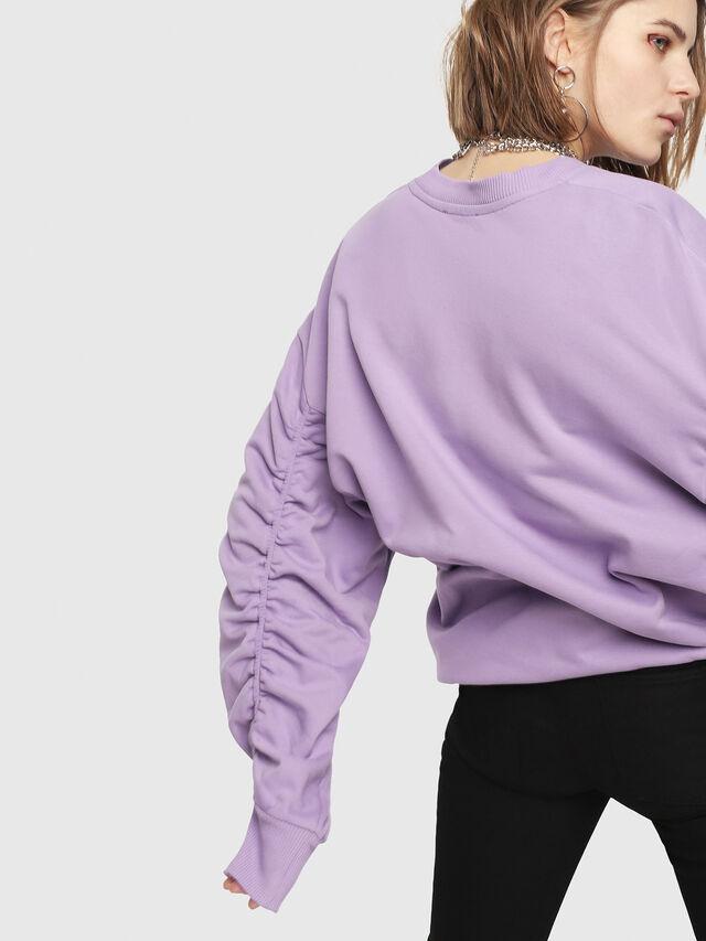 Diesel - F-ARAP, Lilac - Sweaters - Image 2