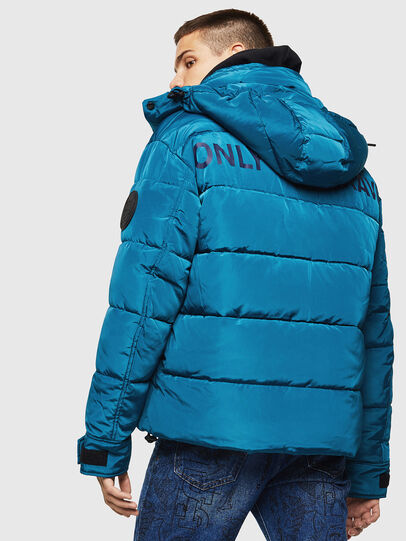 Diesel - W-SMITH-YA-WH, Blue Marine - Winter Jackets - Image 2