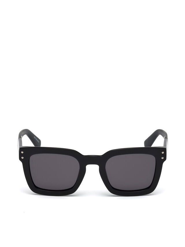 Diesel - DL0229, Black - Sunglasses - Image 1