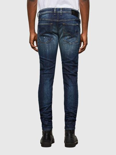Diesel - Sleenker 0097L, Dark Blue - Jeans - Image 2