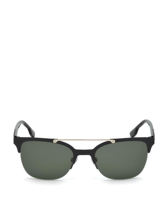 Diesel - DL0215, Black - Sunglasses - Image 1