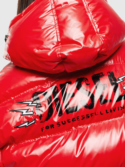 Diesel - CL-W-ALLA-LITM, Red - Winter Jackets - Image 4