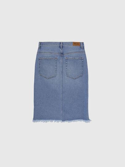 Diesel - DE-ELLYOT, Light Blue - Skirts - Image 2