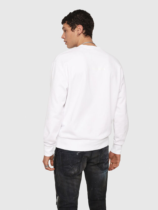 Diesel - CL-SNOR, White - Sweaters - Image 3
