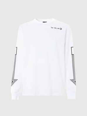 T-JUST-LS-A8, White - T-Shirts