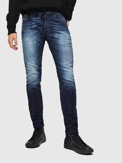 Diesel - Thommer JoggJeans 069IE, Dark Blue - Jeans - Image 1