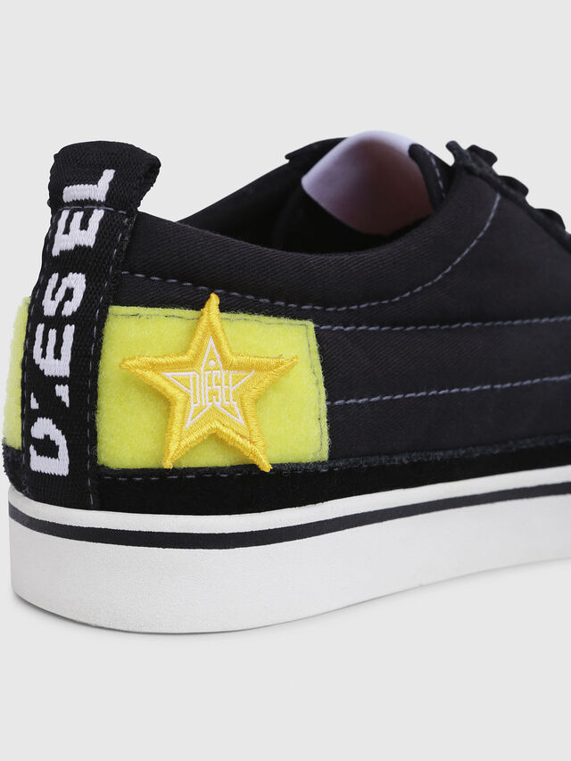 Diesel - D-VELOWS LOW PATCH, Black - Sneakers - Image 4