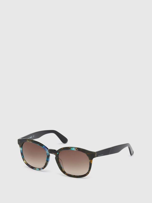 Diesel - DM0190, Blue/Black - Sunglasses - Image 4