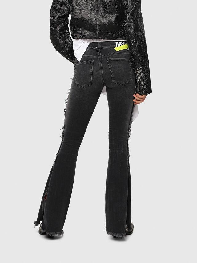 Diesel - D-Ebbey 081AH, Black/Dark grey - Jeans - Image 2