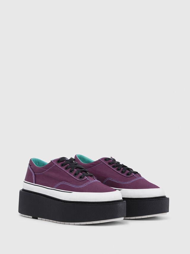 Diesel - H-SCIROCCO LOW, Dark Violet - Sneakers - Image 2