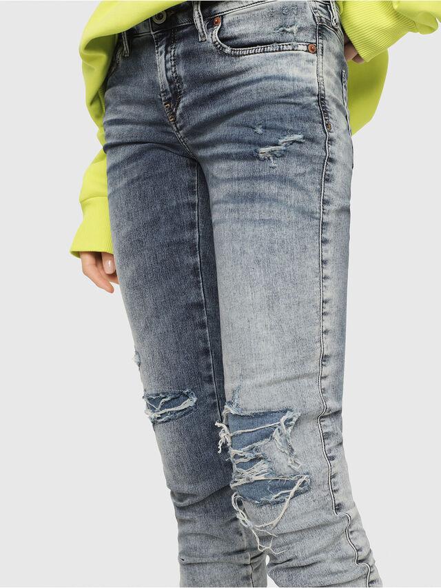 Diesel - Gracey JoggJeans 069FC, Medium blue - Jeans - Image 3