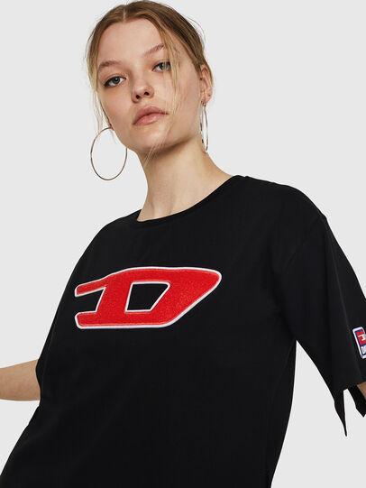 Diesel - T-JACKY-I, Black - T-Shirts - Image 5