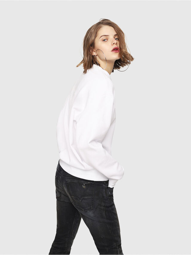 Diesel - CL-SNOR, White - Sweaters - Image 4