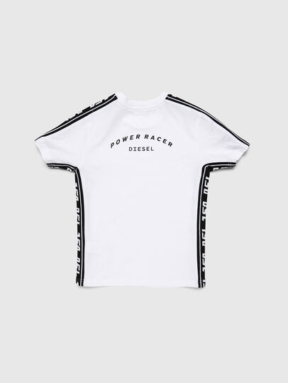 Diesel - TJUSTRACE, White/Black - T-shirts and Tops - Image 2