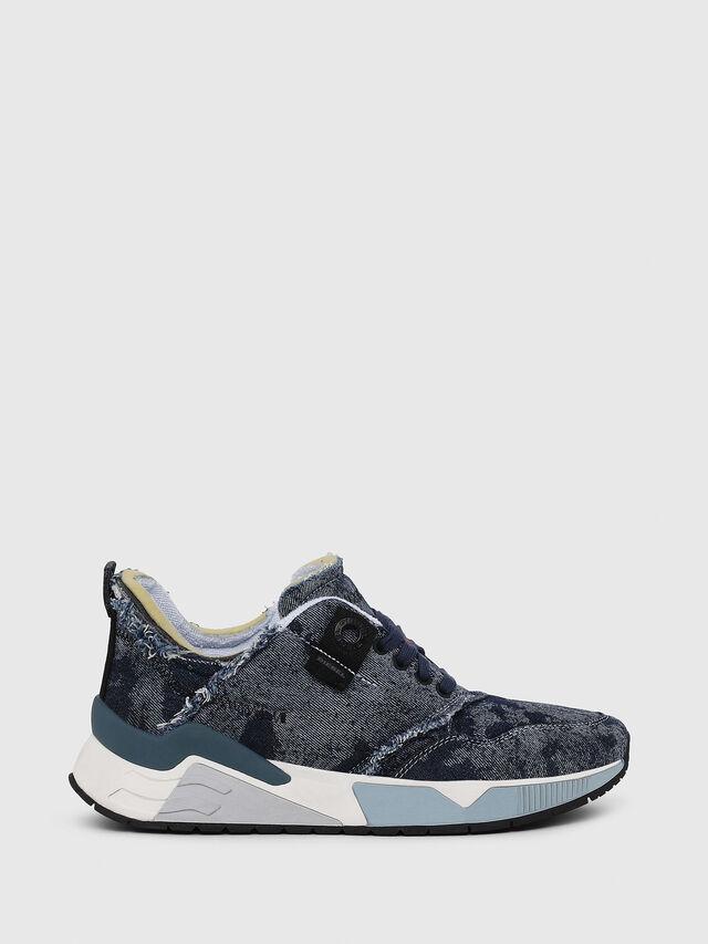 Diesel - S-BRENTHA LC, Blue Jeans - Sneakers - Image 1