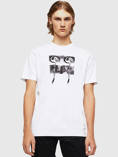 Diesel - TY-X1, White - T-Shirts - Image 1